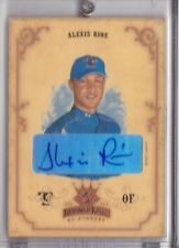 2004 Donruss Diamond Kings Autograph Alexis Rios 30/200