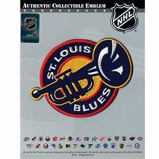 Official St. Louis Blues Jersey Trumpet Team Logo Embroidered NHL Hockey Patch
