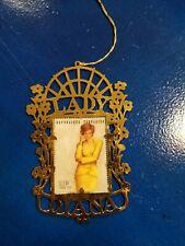 "*Princess Lady Diana Postal Stamp Christmas Ornament 4"""