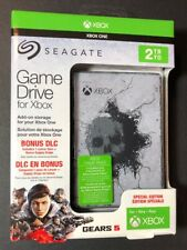 Seagate XBOX Game Drive 2TB USB 3.0 [ Gears of War 5 Special Edition ] NEW