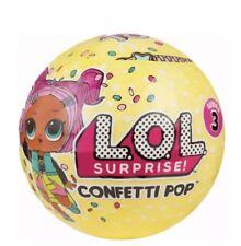 LOL Surprise Dolls Series 3 Confetti Pop New 9 Surprises 1 Ball 100% Authentic