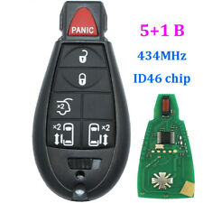 433mhz Remote key fob for 2008-2012 For Chrysler DODGE GRAND CARAVAN 5+1 buttons