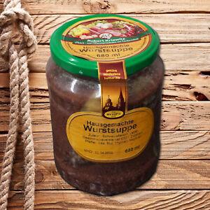 Wurstsuppe - hausgemacht nach Familienrezept - tafelfertig - 680ml