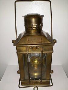 Brass Cargo Light No 3954 Great Britain 1939