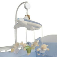 5Pcs DIY Hanging Baby Crib Mobile Bed Bell Toy Holder Arm Bracket