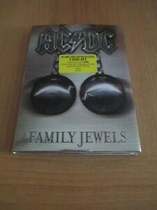 AC/DC FAMILY JEWELS  - DOBLE DVD MUSICA HEAVY