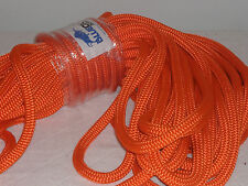 1/2 x 150 Double Braid orange nylon Anchor Dock Hoist Winch Tower Lift