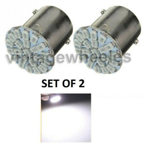 Royal Enfield Pair of White 12 V LED-22 LED-tail sidelight side indicator Bulb