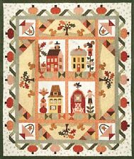 BOTM New Complete Block of the Month Quilt Patterns PUMPKIN PATCH  61x73
