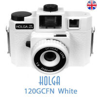 HOLGA 120GCFN White Lomo Medium Format Film Camera Holga 120 GCFN New UK Stock