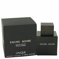 Encre Noire by Lalique Cologne for Men 3.4 oz New In Retail Box