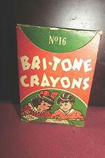 Vintage Box BRI-TONE CRAYONS, # 16.