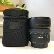 Sigma 8mm f/3.5 Circular Fisheye (Canon)