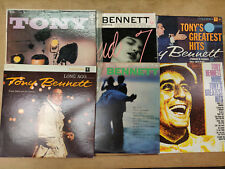 Tony Bennett Lot of 6 Original Vinyl Record Albums Lp greatest hits