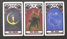OOP Cat Tarot Cards Deck by Alexandria Mokuseioh & Saiya Kusano Japan 1990