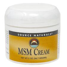 MSM Cream, 2 Unzen Creme-Source Naturals