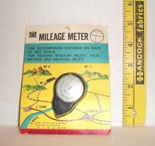 VINTAGE NEW IN PACKAGE MILEAGE METER FOR DETERMINNING DISTANCE ON MAPS JAPAN