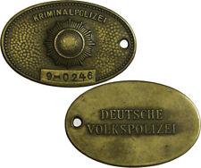DDR Original Marke der Kriminalpolizei der DDR  Nr. 9-0246 Berlin