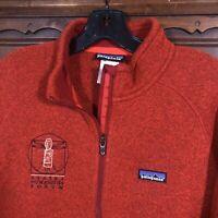 Patagonia Better Sweater Zip Fleece Jacket Cobranded Men's Size L STY: 25526 Red