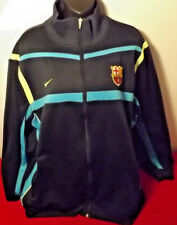FC BARCELONA NIKE TRACK TOP LIKE NEW CONDITION SIZE XXL