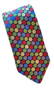 Steven Land The Big Knot Tie Geometric OKC Popular Local News Anchor Owned EUC