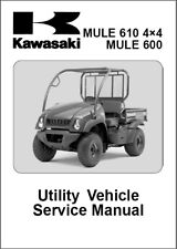 Kawasaki Mule 610 4X4 / Mule 600 Service Repair Workshop Manual CD - KAF400A/B/C
