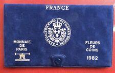 FRANCE - Rare  et  superbe  Coffret FDC 1982