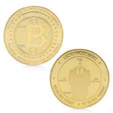 2017 Golden Anonymous Commemorative Coins Coins Collection Souvenir Gift