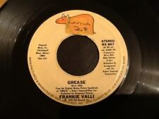 FRANKIE VALLI . GREASE . ( Title song to the film Grease )  . 1978