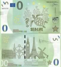 Biljet billet zero 0 Euro Memo - Sealife Scheveningen (037)