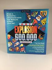 Art Explosion 600,000 Images Clip Art PC Windows 29 Discs Computer Software NOVA