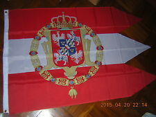 Flag Royal standard of Vasa Sigismund Iii of Poland Polish Crown Ensign 3X5ft