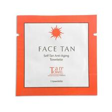 15 PCS; TanTowel Face Tan Self-Tanning Towelette -NEW