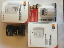 Contractor/ Home Heating A/C lot timer touch pad dimmer thermostat