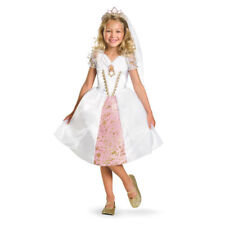 Girls Tangled Rapunzel Disney Fairytale Costume sz 3T-4T