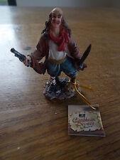 """Pirates of the Caribbean vieux Peg Leg Regency Pirate résine figure BNWT 3.25"""" Haute"""