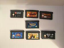 Gameboy Advance spielesammlung 7 Stück