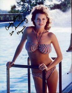 SEXY SIGNED Bikini Photo CANDY LOVING Playboy 25th Anniversary Playmate
