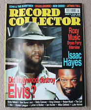 RECORD COLLECTOR Aug 2001 #264 Elvis Presley/Roxy Music/Isaac Hayes/Sparklehorse