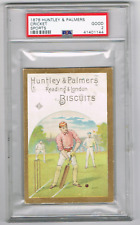 1878 HUNTLEY & PALMERS *CRICKET* *PSA 2* *READING & LONDON* *SPORTS* *BISCUITS*