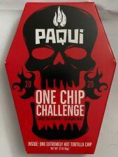NEW PAQUI 2020 ONE CHIP CHALLENGE CAROLINA REAPER .21 OZ (6g) COFFIN BOX BUY NOW