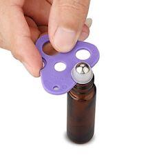 Llavero Abridor De Aceites Esenciales Tapas Roll-On Color Púrpura Olilia