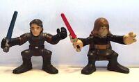 STAR WARS Anakin Skywalker & ObiWan 2008 HASBRO GALACTIC HEROES ACTION FIGURE #2