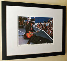 Guns N Roses Slash Rare Paradise City video shoot fine art photo signed 23/100