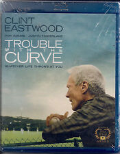 TROUBLE WITH THE CURVE (Blu-ray 2012, Digital Copy) NEW