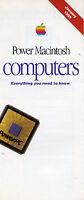 ITHistory (1995) APPLE Brochure: Power Macintosh Computers Everything You Need