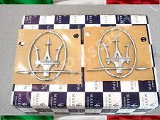 Paar Wappen Friese Seitenlichter Maserati Ghibli original links + rechts Logo