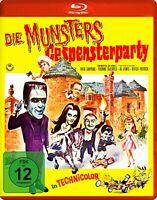 Die Munsters: Gespensterparty [Blu-ray/NEU/OVP] Leinwand-Spinoff der TV-Serie au