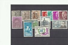 SPAIN ESPAGNE SPANJE mix defs commemoratives Christmas Tourism till 1975 used