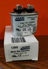 Jard Motor Run Capacitor 12905 370VAC OVAL